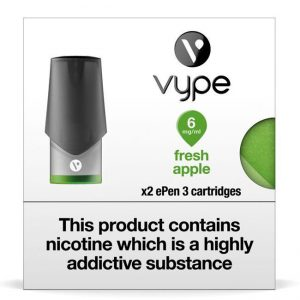 Vype ePen 3 Pods – Fresh Apple – Pack of 2