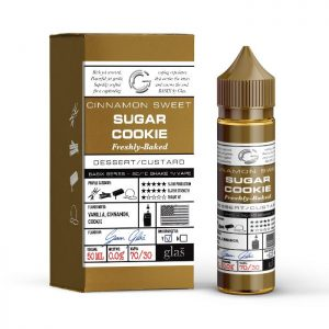 Glas Basix 50ml Short Fill: Sugar Cookie  /w Free Nic Shot