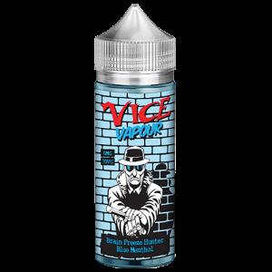 Vice Vapour Heisenberg 100ml : Brain Freeze Hunter  /w 2 Free Nic Shots