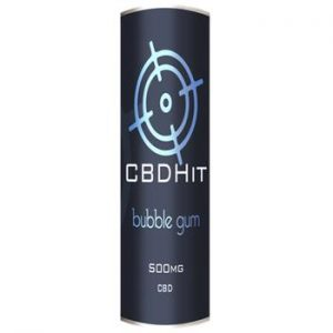 CBD Hit: Bubblegum 500mg – 10ml
