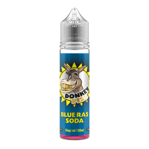 Donkey Piss – Blue Ras Soda – 50ml Short Fill