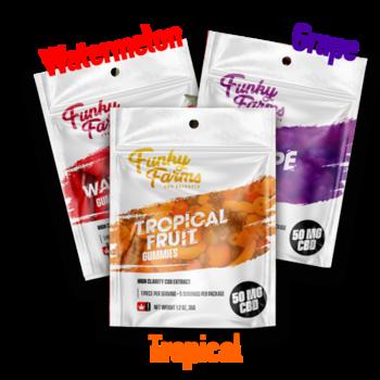 Funky Farm: Gummies (5pcs) – 50mg – SMKD Wholesale
