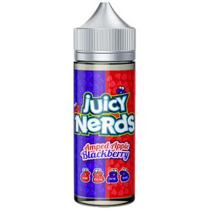 Juicy Nerds: Amped Apple & Blackberry – 100ml