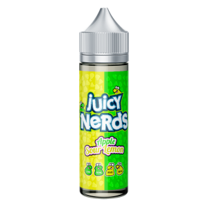 Juicy Nerds: Sour Lemon & Apple – 50ml