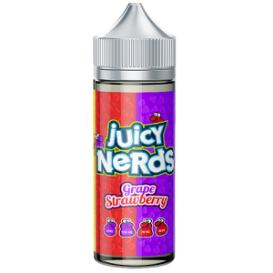 Juicy Nerds: Grape & Strawberry – 100ml