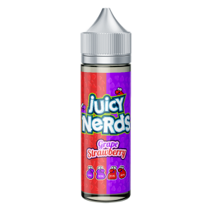 Juicy Nerds: Strawberry & Grape – 50ml