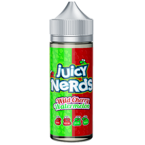 Juicy Nerds: Wild Cherry & Watermelon – 100ml
