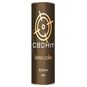 CBD Hit: Lemon Cake 500mg – 10ml