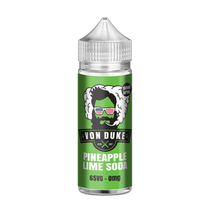 Von Duke – Pineapple Lime Soda – 100ml