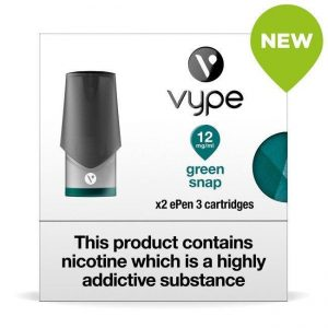 Vype ePen 3 Pods – Green Snap – Pack of 2