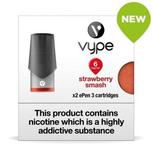 Vype ePen 3 Pods – Strawberry Smash – Pack of 2