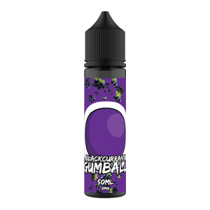 Gumball 50ml Shortfill: Blackcurrant