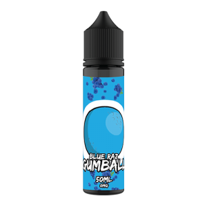 Gumball 50ml Shortfill: Blue Raz