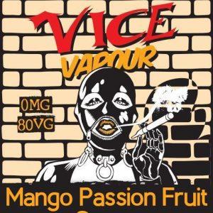 Vice Vapour Mango Passion Fruit Guava : Blood Moon Nora  /w 2 Free Nic Shots