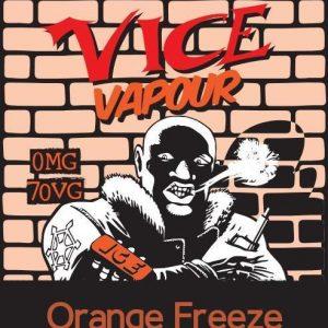 Vice Vapour Orange Freeze : Master Raider Dave  /w 2 Free Nic Shots