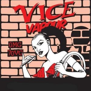 Vice Vapour Red Menthol : Dane of Pain Jane  /w 2 Free Nic Shots