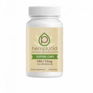 Hemplucid: Gel Caps (30 Capsules)