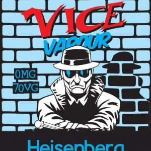 Vice Vapour Heisenberg : Brain Freeze Hunter  /w 2 Free Nic Shots