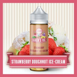 Bakers Fog: Strawberry Doughnut Ice Cream – 100ml Shortfill
