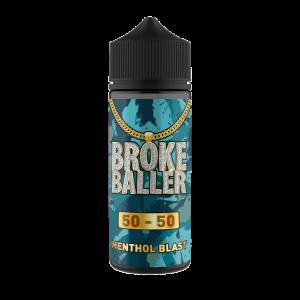 Broke Baller: Menthol Blast -80ml Shortfill – 50vg/50pg