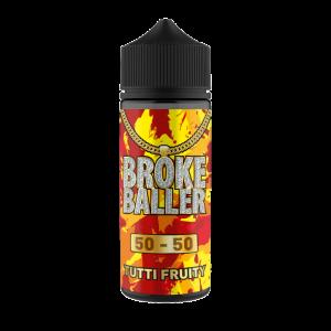 Broke Baller: Tutti Fruity – 80ml Shortfill – 50vg/50pg