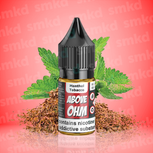 Above Ohm: Menthol Tobacco – 10ml – MTL