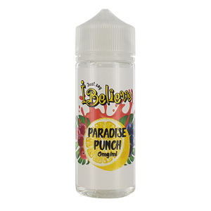 I Believe: Paradise Punch – 100ml Shortfill