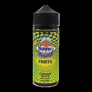 Nanna's Secret: Fruits Lemonade Mojito – 100ml Shortfill