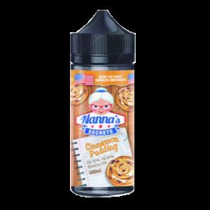 Nanna's Secret: Cinnamon Pudding – 100ml Shortfill