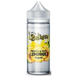 I Believe: Pineapple & Peach Lemonade – 100ml Shortfill