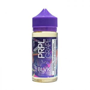 BLVK Unicorn: PRPL GRAPE – 50ml Shortfill