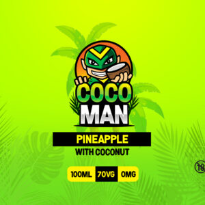 Cocoman 100ml Pineapple with Coconut