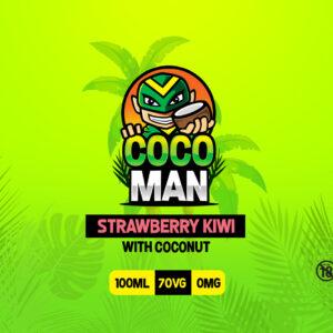 Cocoman 100ml Strawberry Kiwi with Coconut
