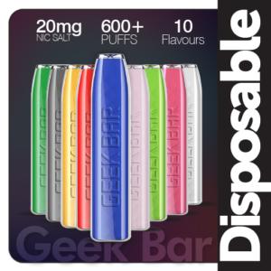 GeekVape GEEK BAR Disposable Pod Device 600Puffs
